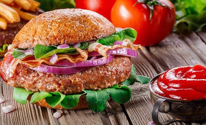 The Burger Hub, New Colony, New Colony logo