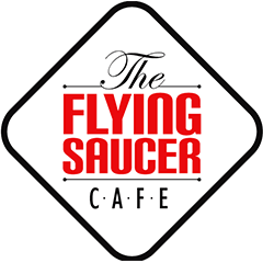 The Flying Saucer Cafe : Nehru Place, Nehru Place, New Delhi logo