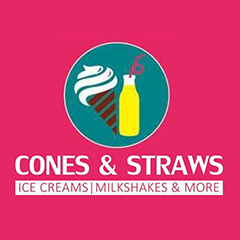 Cones N Straws : Kamla Nagar, kamla nagar,New Delhi logo