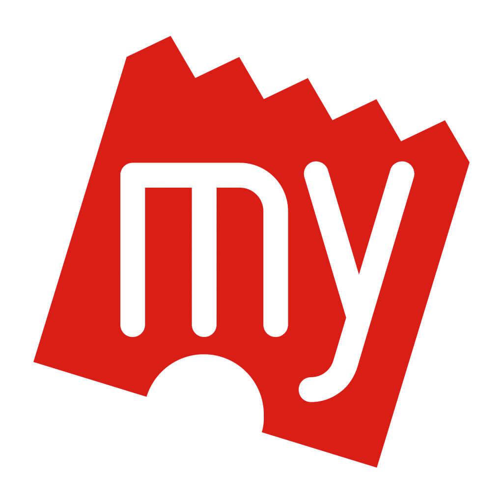 BookMyShow,  logo