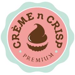 Creme n crisp : Gole market, Gole market, New Delhi logo