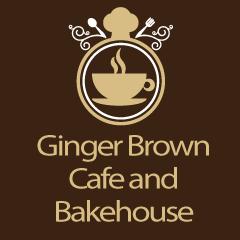 Ginger Brown Cafe and Bakehouse : Saket, Saket, New Delhi logo