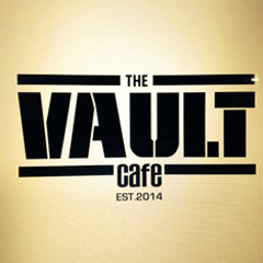 The vault cafe, Cannaught Place, cannaught Place : New Delhi logo