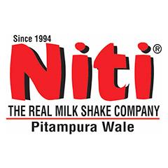 Niti Shake & Ice Cream Hub, Sector 11 : Rohini, Rohini,New Delhi logo